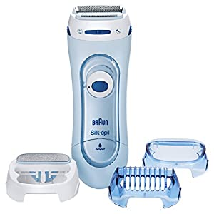 Braun Silk Pil Lady Shaver Electric Lady Shaver Wet Dry Use Wet And Dry