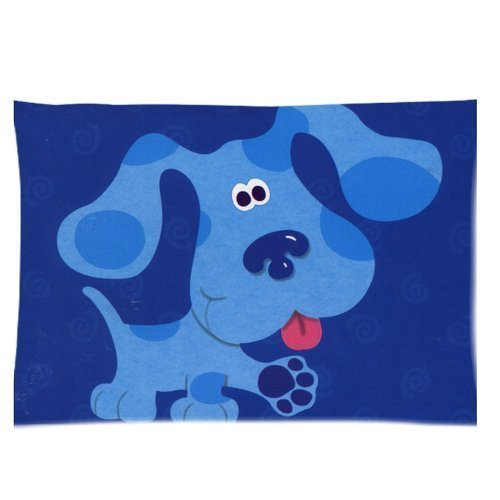 cute-dog-blues-clues-pillowcase-covers-standard-size-20x30-inch-by-genericone