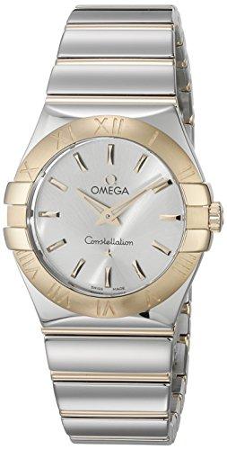 Omega 12320276002004 - Reloj de pulsera Mujer, Oro, color Bicolor