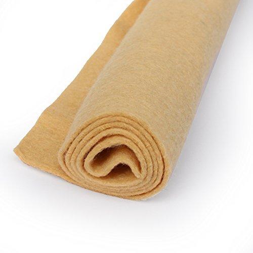 Sand-Der Wolle Filz Oversized-Mischgewebe 35% Wolle-30,5x 45,7cm Tabelle QTY 3 braun - Sand Wolle-mischung