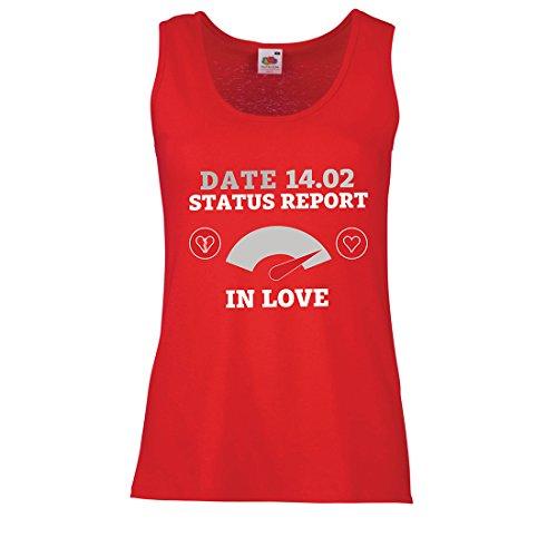 ebruar Valentinstag Statusbericht. Ich Liebe Dich ! (Large Rot Mehrfarben) (Beste Halloween-brauch)
