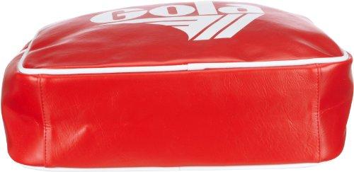 Gola Redford Cub901, Unisex - Erwachsene Henkeltaschen, 36x27x12 Cm (bxhxt) Marciume / Rosso / Bianco