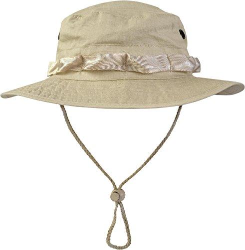 normani US GI Boonie Hat US Buschhut Safari Hut S-XL Farbe Beige Größe S