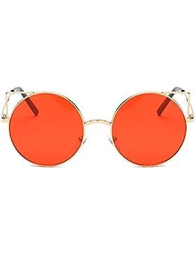 Moda Gafas de sol de viaje,KanLin1986-Gafas Vintage Polarizado Gafas Unisex,gafas de sol de ojos del gato de Marco...