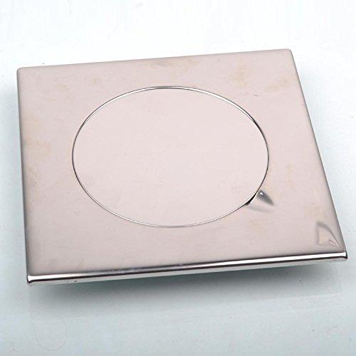 X&L In acciaio inox piano scarico 20cm piazza lungo scarico