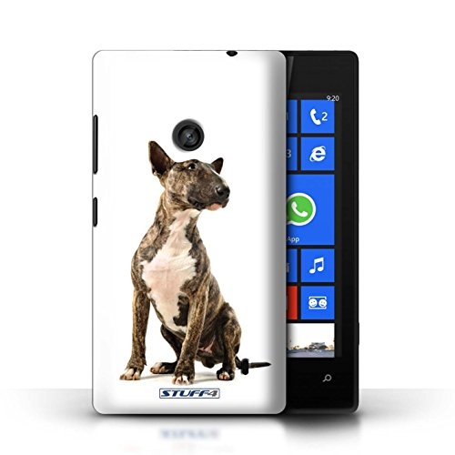 Etui / Coque pour Nokia Lumia 520 / Jack Russell Terrier conception / Collection de Chiens Bull Terrier