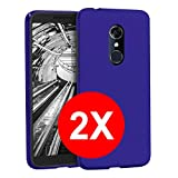 TBOC 2X Blue Ultra Thin TPU Silicone Gel Case for Alcatel