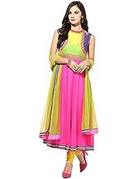 Preeti S Kapoor Women's Straight Crepe Kurta