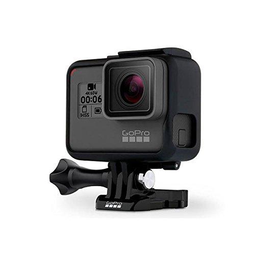 Go Pro Hero6 Black Cámara De Acción Vídeos En 4k A 60fps Con Pantalla Táctil Y Comandos por Voz