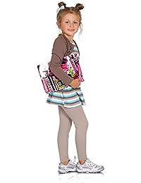 4ffe6684797a62 FUTURO FASHION Full Length Cotton Cotton Girls Leggings Plain Pants Kids