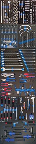 King Tony 932238MRED evawave Werkzeug Trolley, Set 238