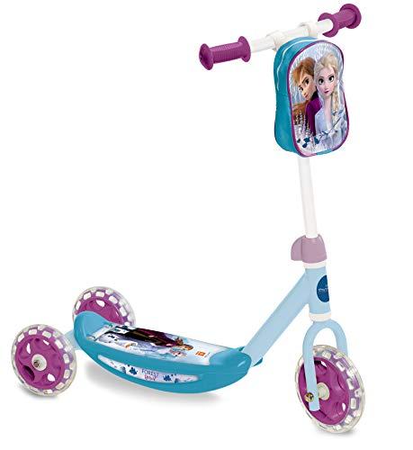 Mondo- My First Scooter Frozen II Monopattino a 3 Ruote per Bambini con Borsetta Porta Oggetti Inclusa, Multicolore, s, 28222