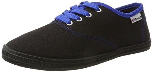 Nebulus Schuhe Sneaker Marina, Damen, schwarz, Größe 41 (Q1414)