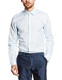 "Caramelo Camisa Vestir  Azul Claro 43 cm (17"")"