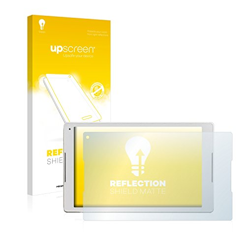 upscreen Entspiegelungs-Schutzfolie kompatibel mit Alcatel Plus 10 - Anti-Reflex Bildschirmschutz-Folie Matt
