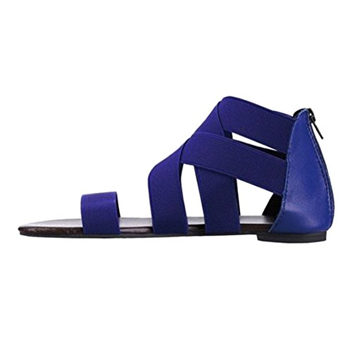 3ea43fb47ba4 Juleya Sandals Women Summer Flat Shoes Peep Toe Sandals