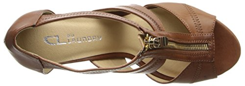 CL By Laundry Willow Leder Sandale Rich Brown
