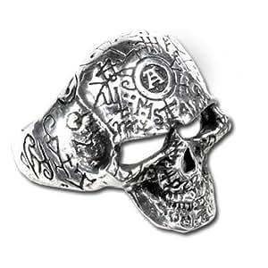 Alchemy Gothic anneau Omega Crâne