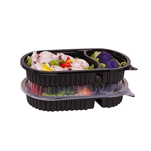{HS} Cantidad: 100.{HS} Tamaño : 23 × 14cm , 16.5 × 5.2cm{HS} Temperatura de funcionamiento: -68 ° F a 248 ° F [-20 ℃ a 120 ℃{HS} Introducción: El recipiente prefabricado de comida perfecta, que puede hacer una comida para cada miembro de la familia,...