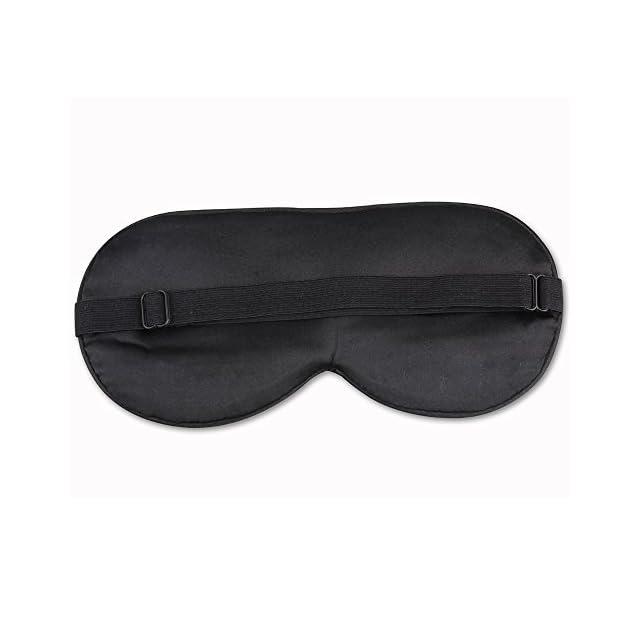 ANKOVO Masque des Yeux/dormir masque naturel soie yeux masque pour lumière dormeur,femme ,homme ,enfant ,Masque de voyage très doux pour voyager ,travailler et méditer