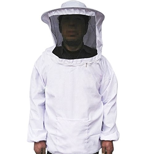 Pixnor Per Apicoltura Attrezzatura apicoltura apicoltura cappotto protettivo guanti Set del grembiule