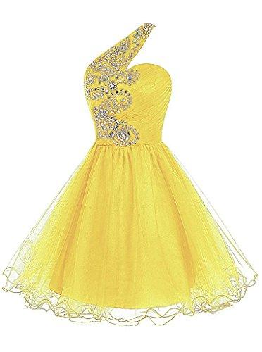 ivyd ressing Femme col V à spaghetti A ligne mousseline & dentelle Prom robe longue Lave-vaisselle robe robe du soir Doré