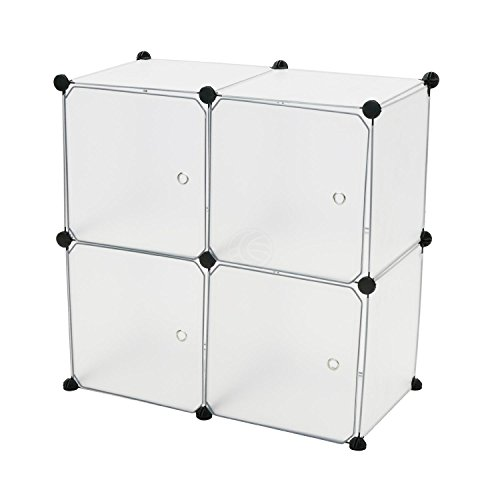 cablematic-modular-shelving-closet-storage-organizing-4-plastic-cube-35x35cm-white-with-doors