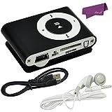 SalesLa mini clip USB Práctico Reproductor de MP3 de 16GB Micro LCD Radio Music Media Reino Unido