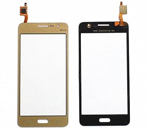 ixuan Vitre Tactile Sans Ecran LCD de Rechange pour Samsung Galaxy Grand Prime SM-G531F G531 (Or) avec Outiles