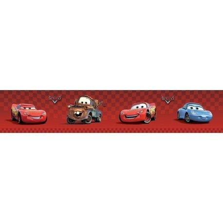 Cars kleine Bordüre Rolle Selbstklebende Tapetenbordüre