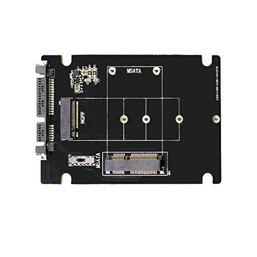 Semoic S107-Rtk Adapter Karte Erweiterungs Karte Alle 2 In 1 MATA Zu Sata Ngff (M.2) Zu Sata Iii Sata3 Konverter Solid State Disk Für Desktop -