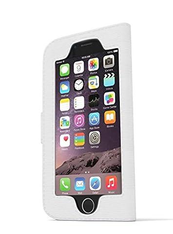 iwallie classique en cuir PU pour iPhone 6et 6S–wallet-case. accès sans coutures et protection élégante pour votre