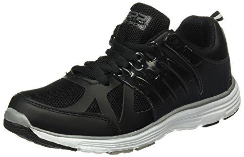 Beppi Sport 2132600, Chaussures de sport mixte adulte Noir (Black)