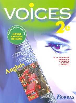 Anglais 2nde Voices par Collectif