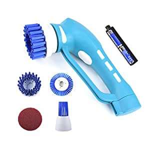 Electric Cleaning Brush,Handheld Power Scrubber with 4 pcs ...