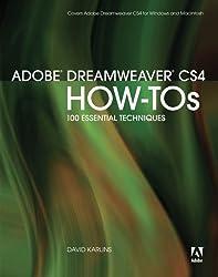 Adobe Dreamweaver CS4 How-Tos: 100 Essential Techniques by David Karlins (2008-11-08)
