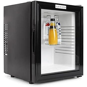 Klarstein mks 12 mini bar fridge 24 l glass door low noise klarstein mks 12 mini bar fridge 24 l glass door low planetlyrics Gallery