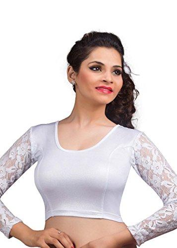 Vamas Shimmer Non-Padded Stretchable Full Sleeves Saree Blouse ( Vdb_A-19 )