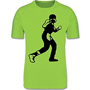 Sport Kind – Boxen Schlag – atmungsaktives Laufshirt/Funktionsshirt für Mädchen und Jungen