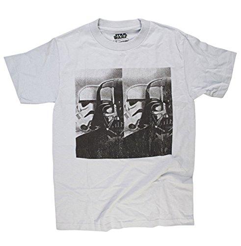 Boba Kostüm Tee - Star Wars Vader Trooper Classic Rundhals T-Shirt Gr. M, grau