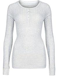 Storelines - Haut thermique - Femme gris gris chiné