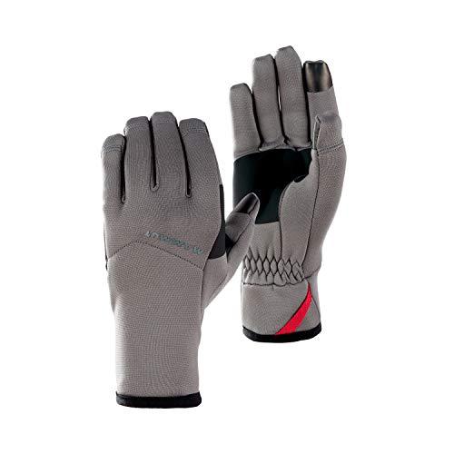 Mammut Handschuhe Fleece Pro, Titanium, 7