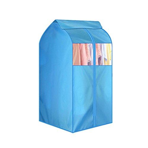 Blancho Garment-Abdeckung Bag Organizer staubdichte Aufbewahrungstasche,Blau