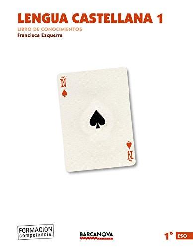 Lengua castellana 1º ESO. Libro de conocimientos (ed. 2015) (Materials Educatius - Eso - Lengua Castellana) - 9788448936112 (Arrels)