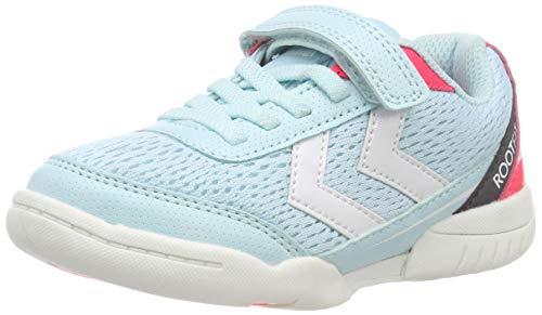 Hummel Unisex-Kinder Root JR 2.0 VC Multisport Indoor Schuhe, Blau (Iced Aqua 7325), 37 EU
