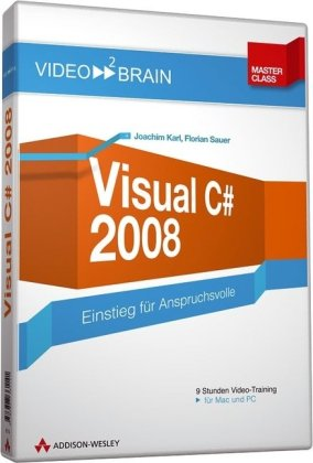 Visual C# 2008 - Videotraining (DVD-ROM)