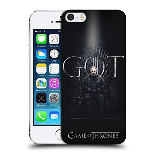 Head Case Designs Ufficiale HBO Game of Thrones Davos Seaworth Season 8 for The Throne 2 Cover Dura per Parte Posteriore Compatibile con iPhone 5 iPhone 5s iPhone SE