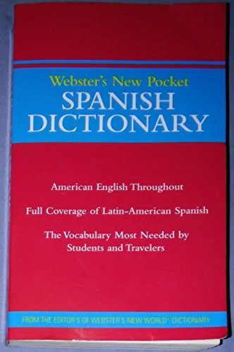 Title: Websters New Pocket Spanish Dictionary STAPLES