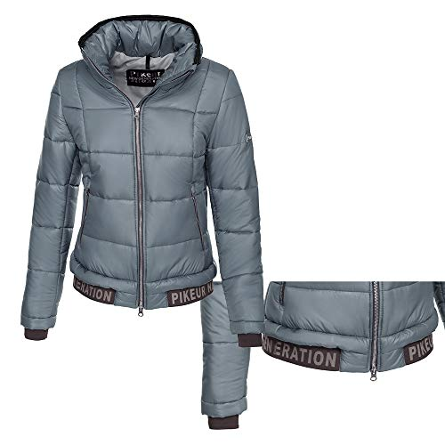 Pikeur Damen New Generation Steppblouson GREADY, Grey Blue, 40