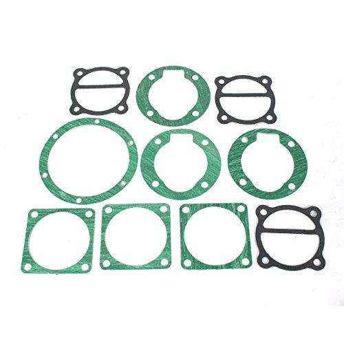 sourcingmap® 10 in 1 Industrie Luft Kompressor Zylinder Basis Dichtungen Ventilplatte de (Industrie-kompressor-luft)